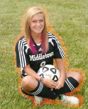 Cassie Poindexter 12th grade soccer Picture